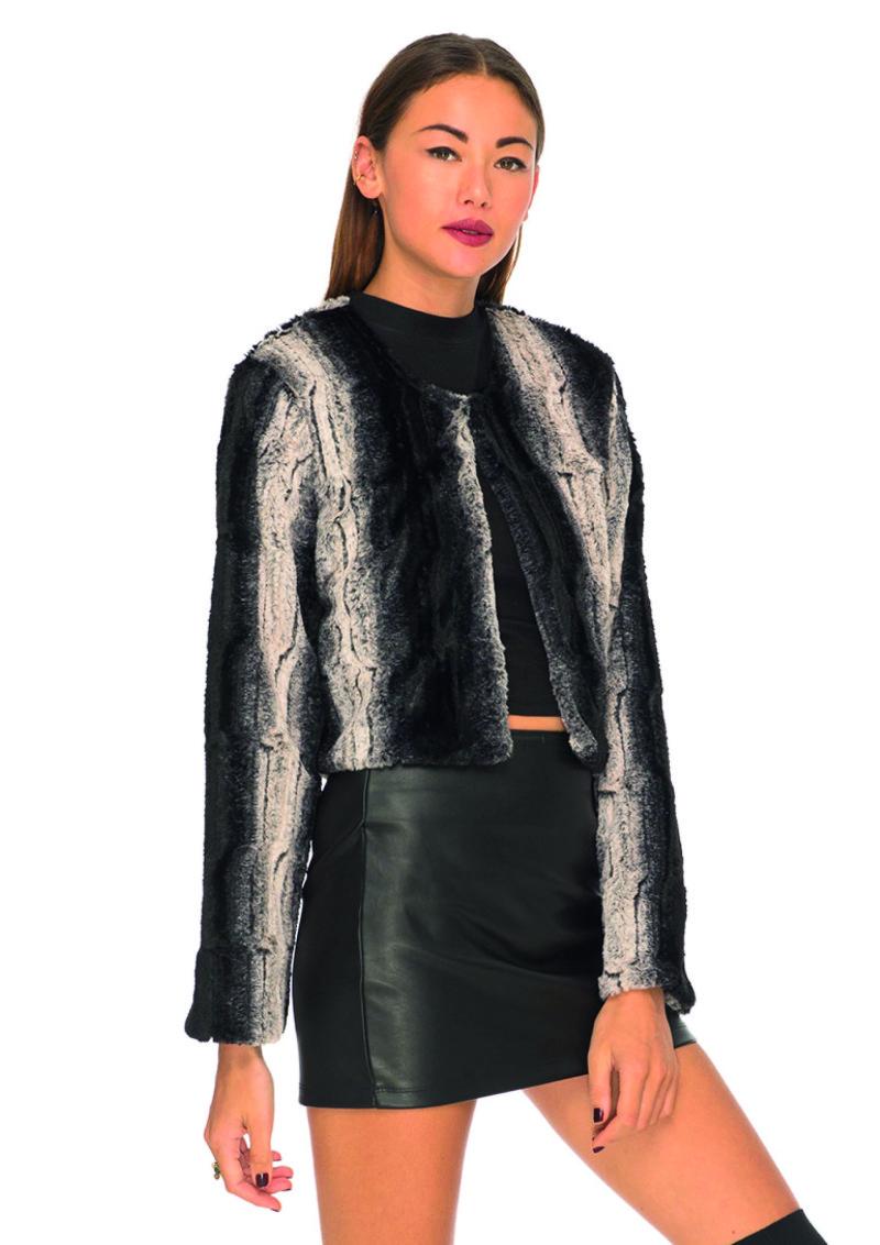 Freya fur jacket Motel
