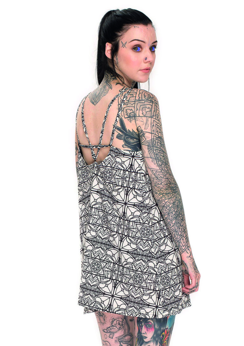 Grace Neutral dress Motel