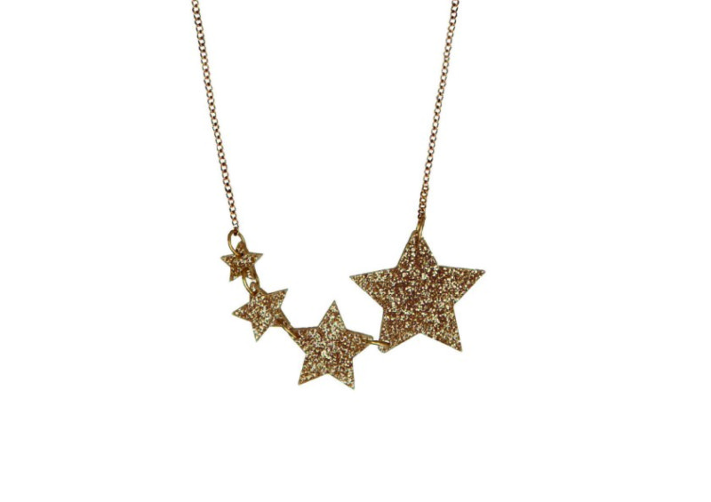 Tatty Devine shooting star necklace