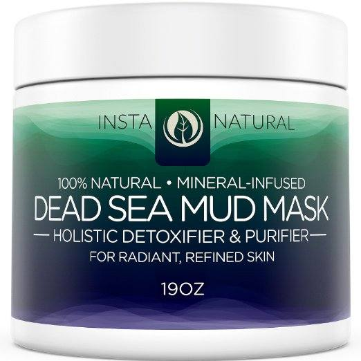 Dead Sea Mud Mask Review- Instanatural