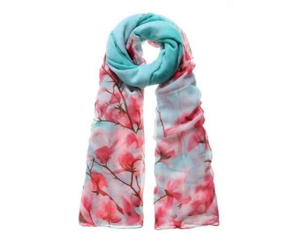 magnolia blossom scarf